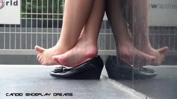 Asian Sales Girl's Magnificent Lunch Break Dipping(14)