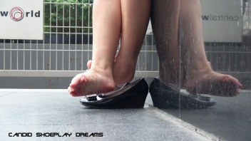 Asian Sales Girl's Magnificent Lunch Break Dipping(3)