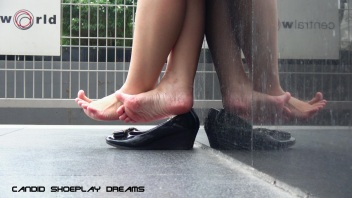 Asian Sales Girl's Magnificent Lunch Break Dipping(7)