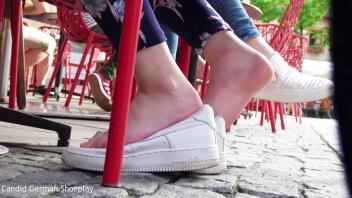 Girly's Soft Barefeet On Nike Air 2(12)