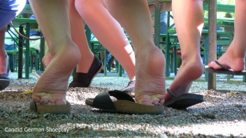 Gorgeous Italian Girly Barefoot Teasing 1(4)